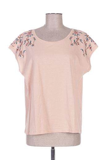 pablo gerard darel t-shirts femme de couleur beige