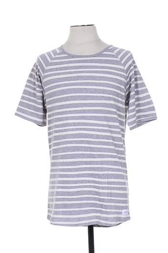 bask in the sun t-shirts homme de couleur gris