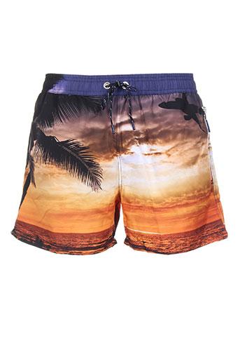 sweet pants maillots de bain homme de couleur orange