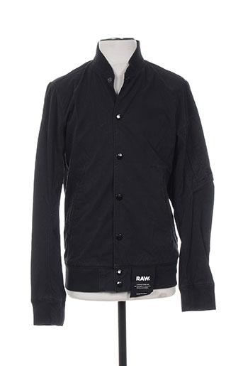 Veste casual noir G STAR pour homme
