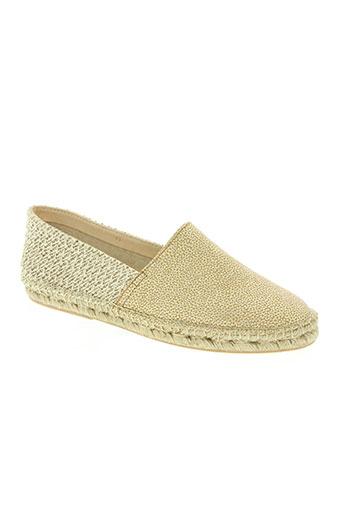 craie chaussures femme de couleur beige
