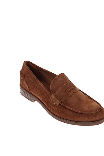 vagabond chaussures homme de couleur marron