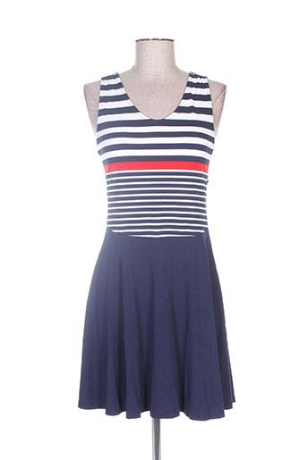 natural robes femme de couleur bleu