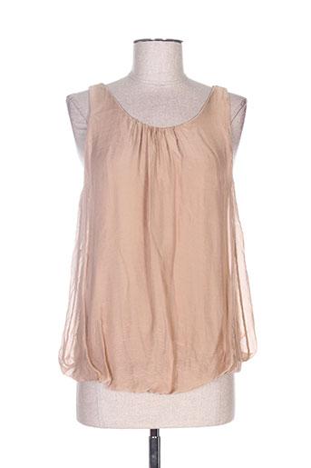 b.yu chemises femme de couleur marron