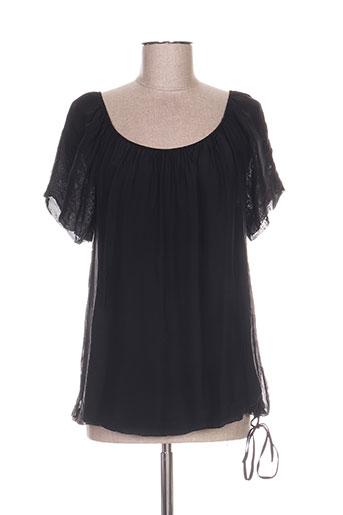 b.yu chemises femme de couleur noir