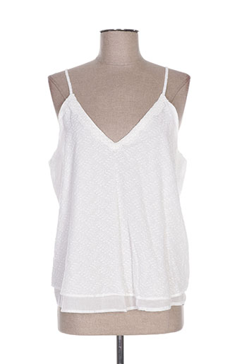 season chemises femme de couleur blanc