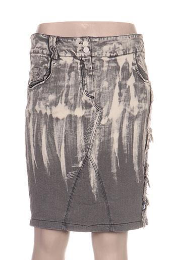 daniela dallavalle jupes femme de couleur gris