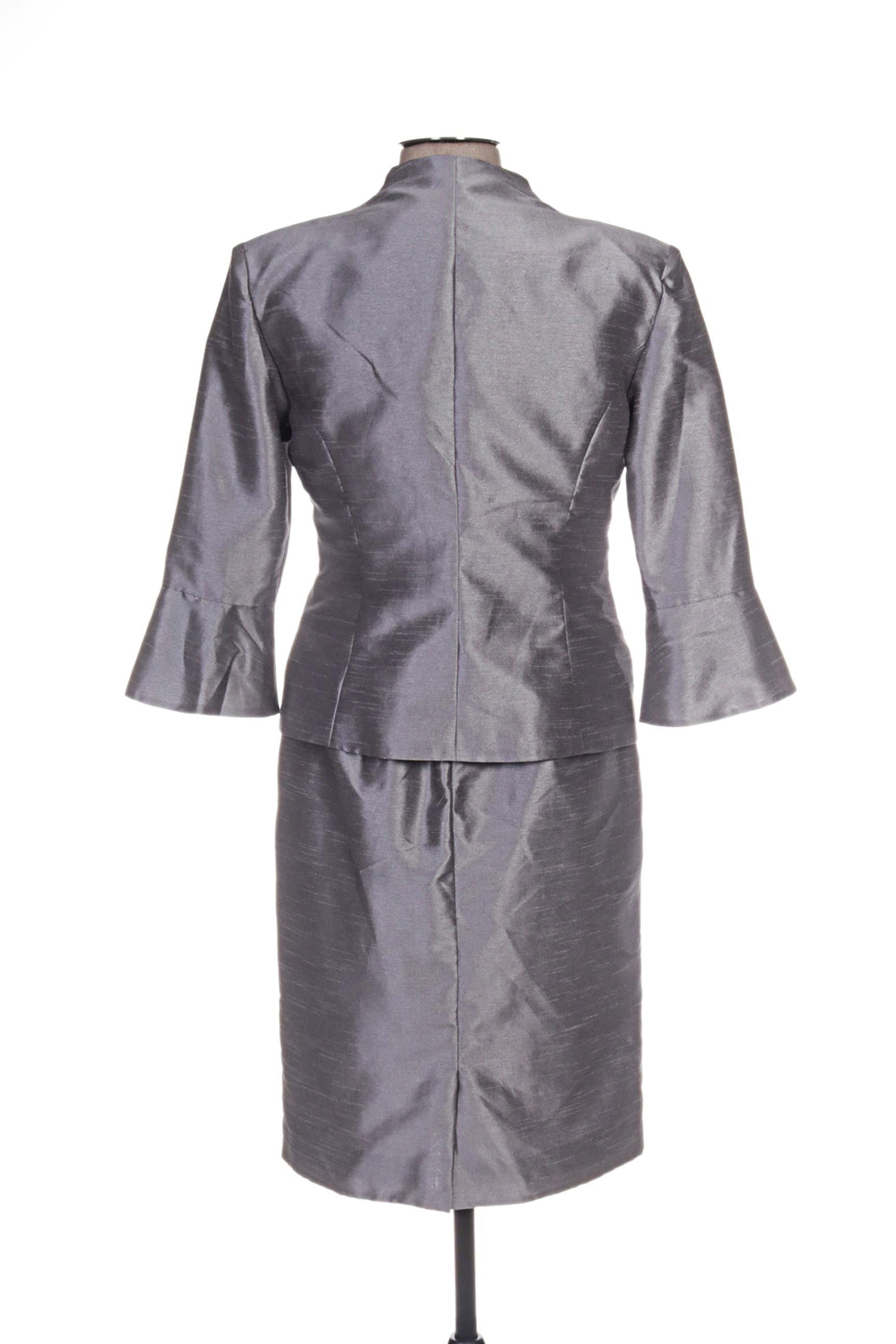 Fashion Robe Veste Femme De Couleur Gris En Soldes Pas Cher 1179824-gris00