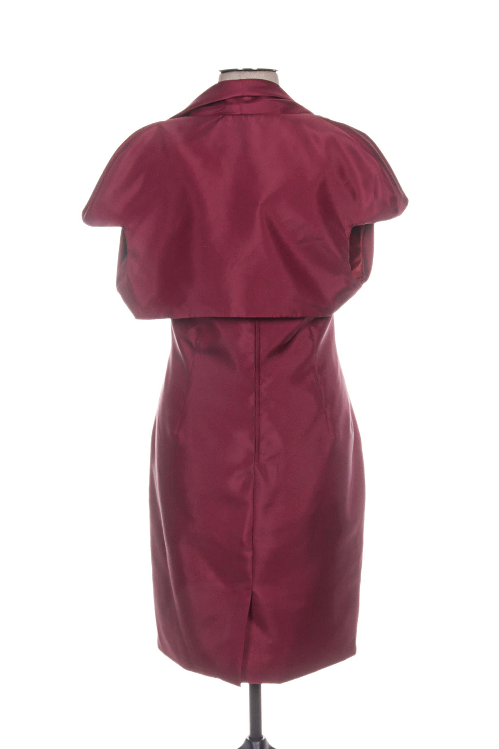 Pia Benelli Robes Mi Longues Femme De Couleur Rouge En Soldes Pas Cher 1180019-rouge0