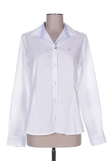 desgaste chemises femme de couleur blanc