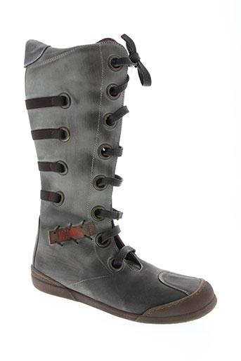 no scratch chaussures fille de couleur gris