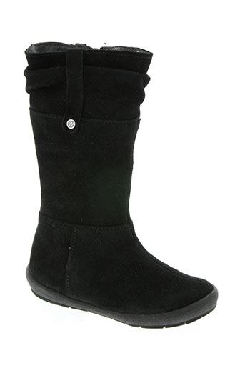 naturino chaussures fille de couleur noir