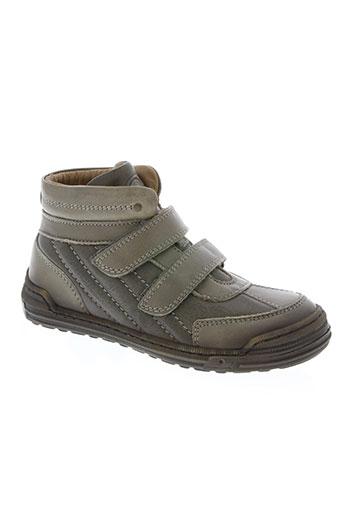 bisgaard chaussures garçon de couleur gris