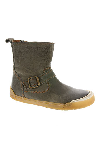bisgaard chaussures fille de couleur gris