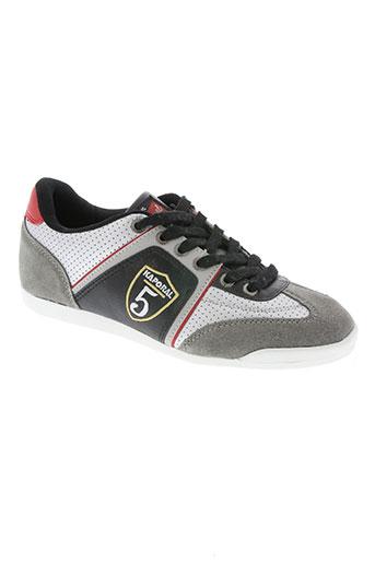 kaporal chaussures garçon de couleur gris