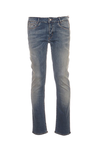 haikure jeans homme de couleur bleu