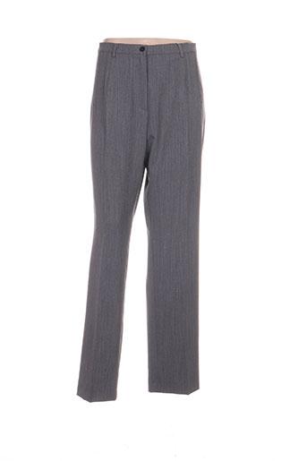 zaffiri pantalons femme de couleur gris