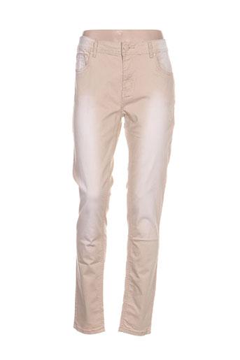 s d jeans jeans femme de couleur beige