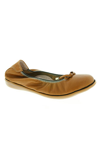 on zen chaussures femme de couleur marron