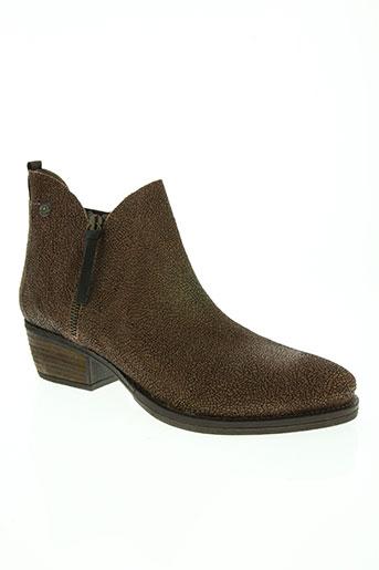 coque terra chaussures femme de couleur marron