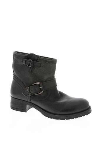 wrangler chaussures femme de couleur noir