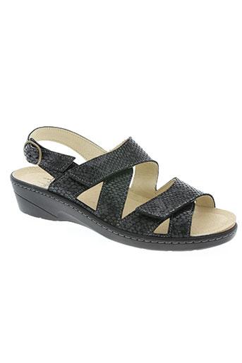 belvida chaussures femme de couleur noir