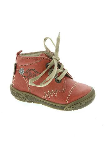 noël chaussures enfant de couleur rouge