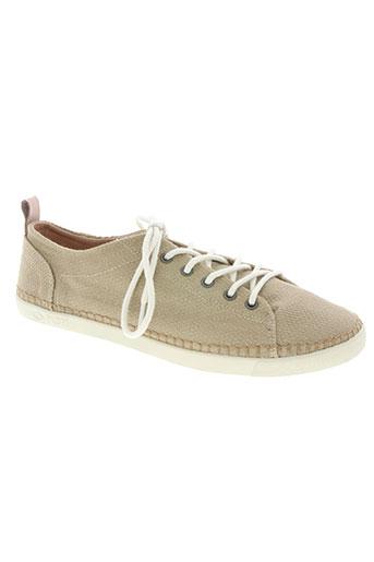 palladium chaussures unisexe de couleur beige