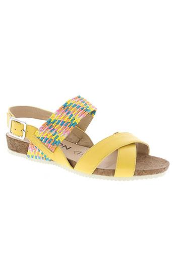 madison chaussures femme de couleur jaune