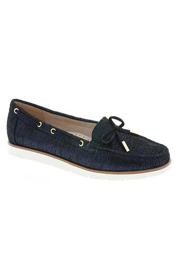 metamorf'ose chaussures femme de couleur bleu