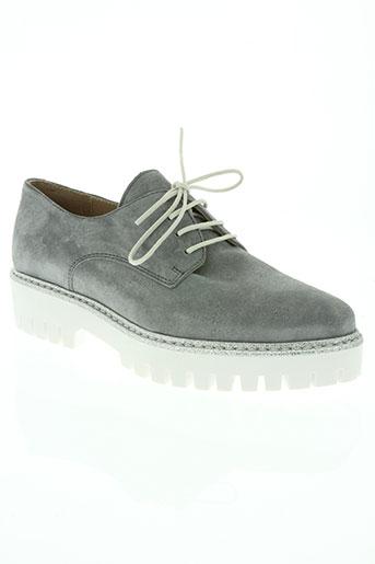 alpe chaussures femme de couleur gris
