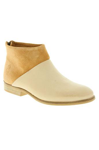 apple of eden chaussures femme de couleur beige