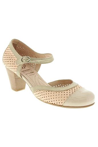 wonders chaussures femme de couleur rose