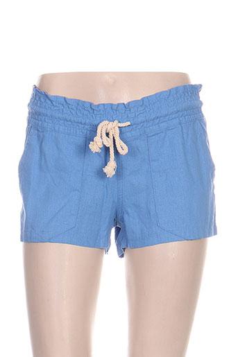 roxy girl shorts / bermudas femme de couleur bleu