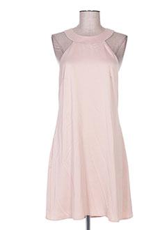 Robe courte rose ADOREE pour femme