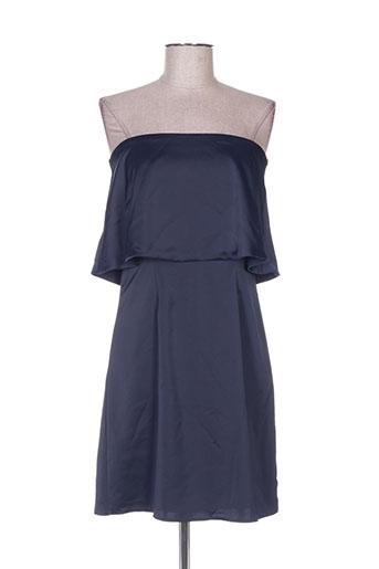 Robe mi-longue bleu ADOREE pour femme