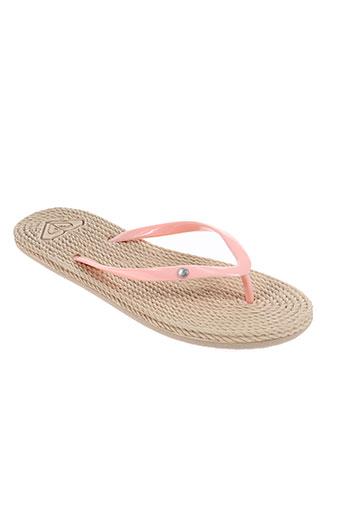 roxy girl chaussures femme de couleur rose