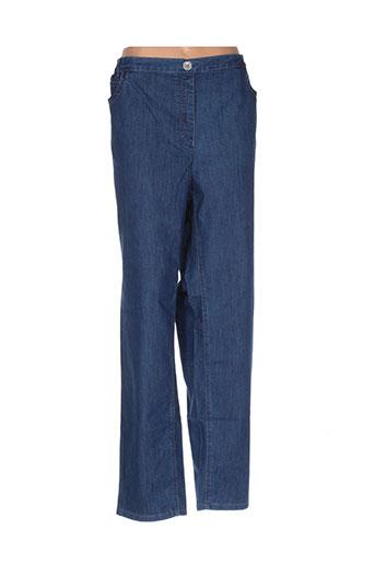 stark jeans femme de couleur bleu