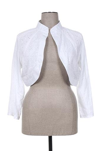 rubyray vestes femme de couleur blanc