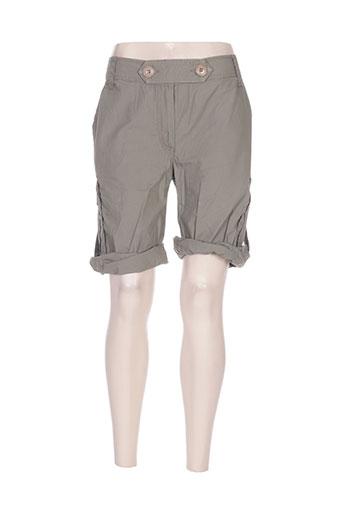 malvin shorts / bermudas femme de couleur gris
