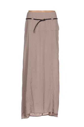 carmakoma jupes femme de couleur beige