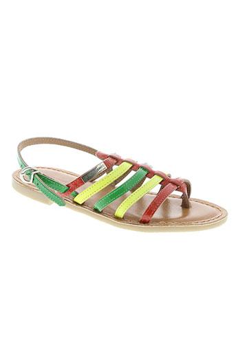 les tropeziennes par m.belarbi chaussures fille de couleur vert