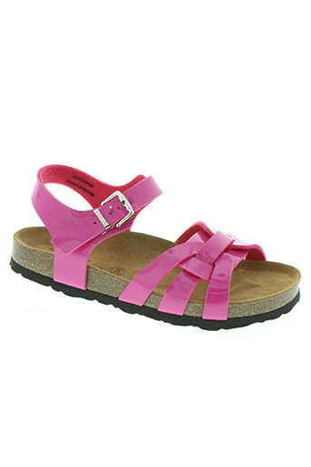 reqins chaussures fille de couleur rose