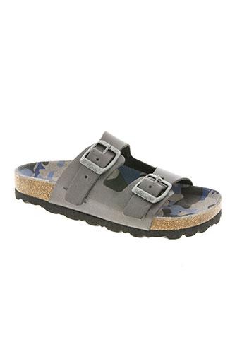 reqins chaussures garçon de couleur gris