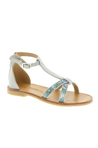 shwik chaussures fille de couleur gris