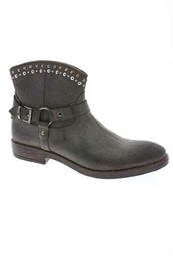 romagnoli chaussures femme de couleur gris