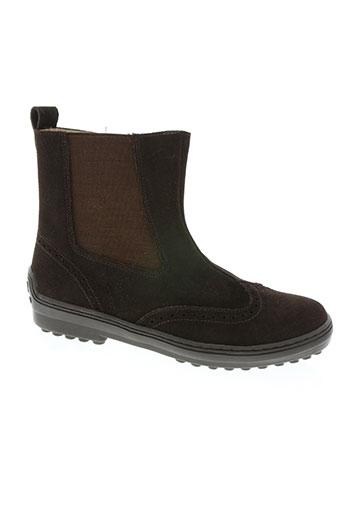natik chaussures enfant de couleur marron