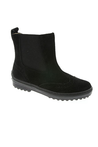 natik chaussures enfant de couleur noir