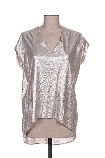 chattawak chemises femme de couleur gris