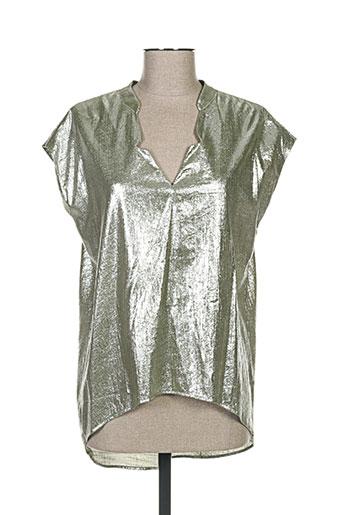 chattawak chemises femme de couleur vert